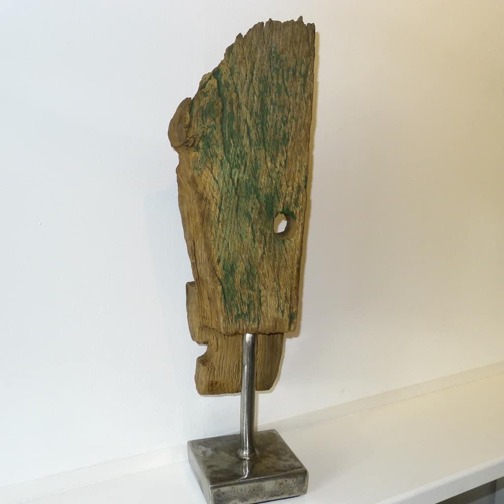 "Holzskulptur ""Ausgedient"", Höhe 50 cm, Thomas Levin"