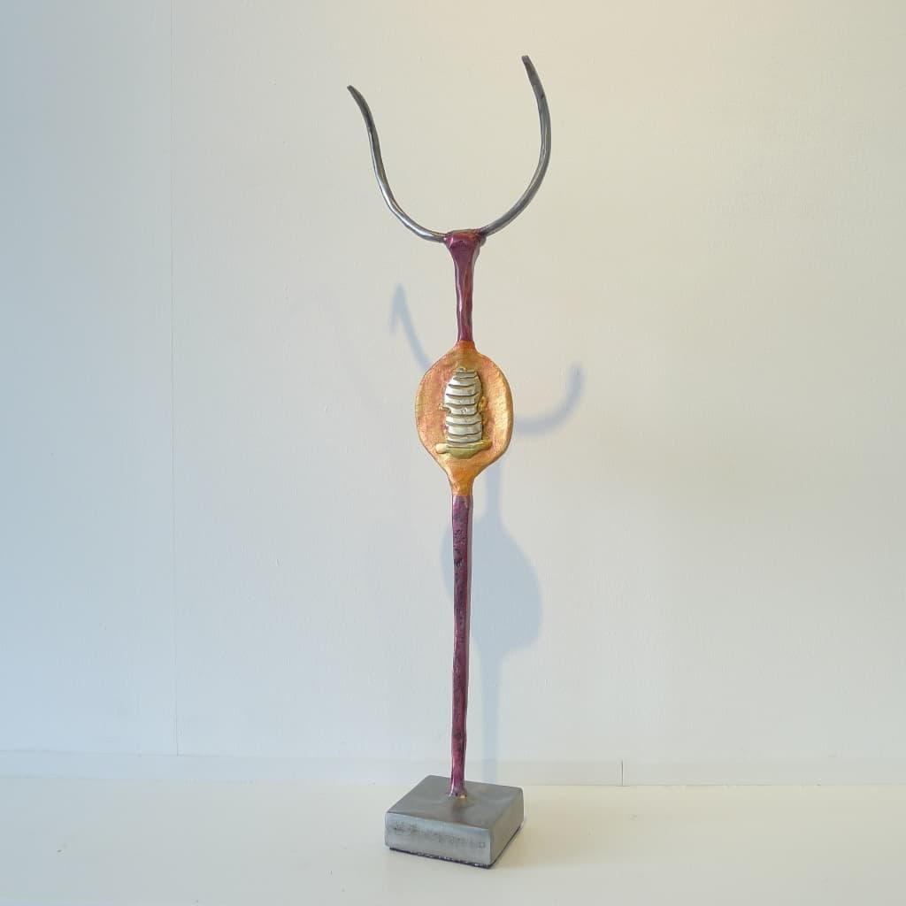 """""""Metallskulptur """"Das Gute in mir"""", Thomas Levin"""