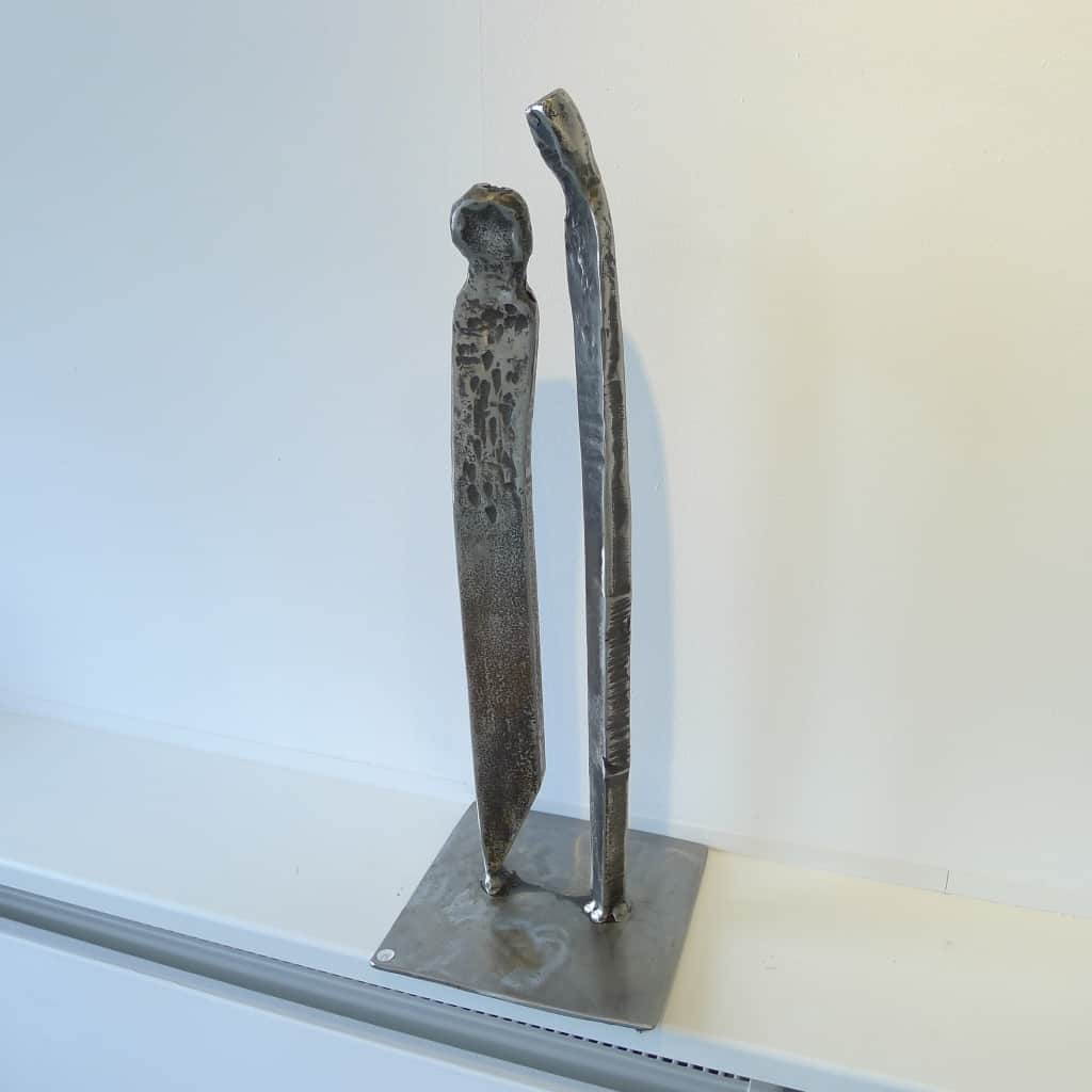 """Metallobjekt """"Der Unerwartete"""", Höhe 55,5 cm, Thomas Levin"""