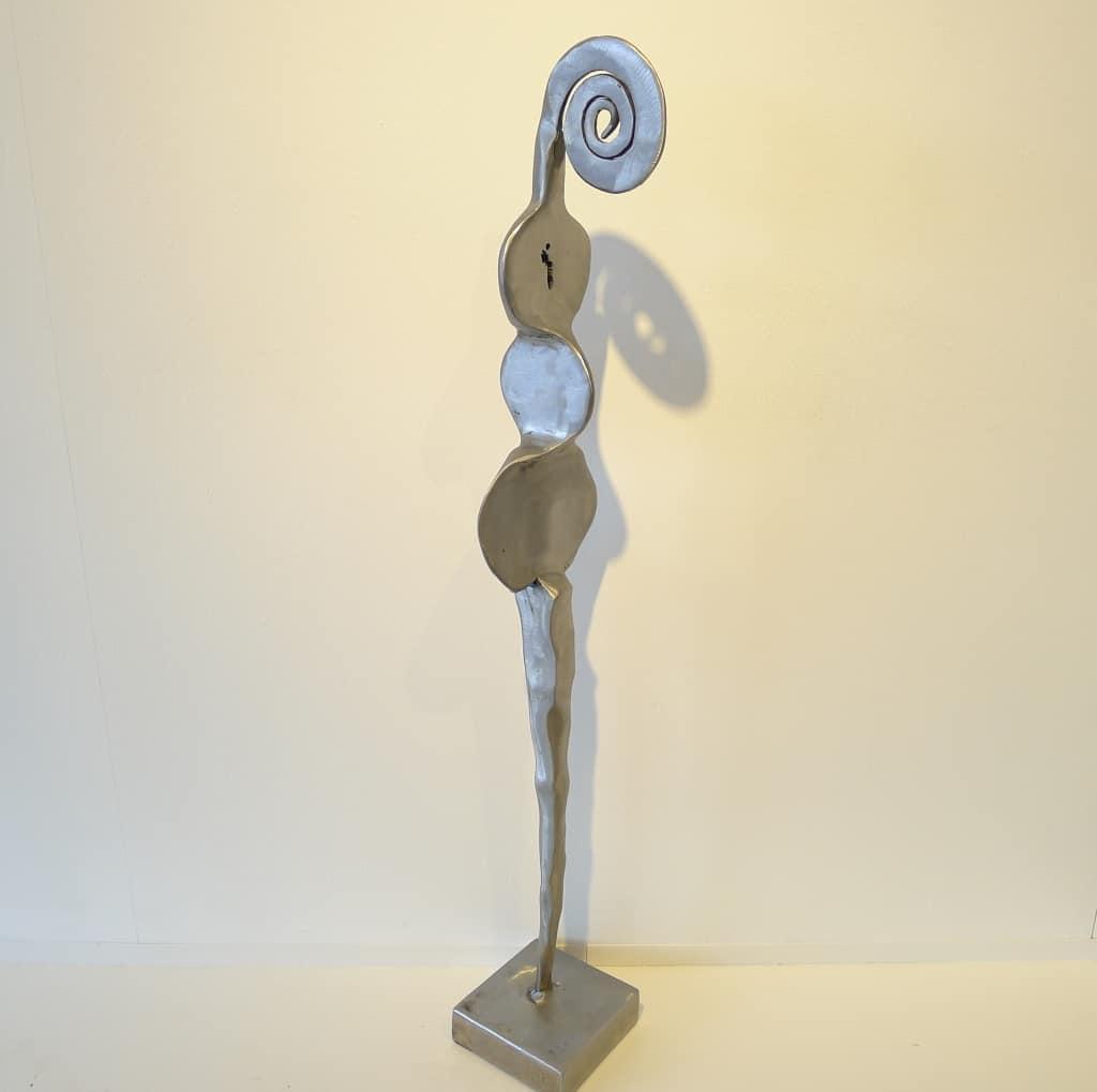 "Metallskulptur ""In Gedanken"", Thomas Levin"