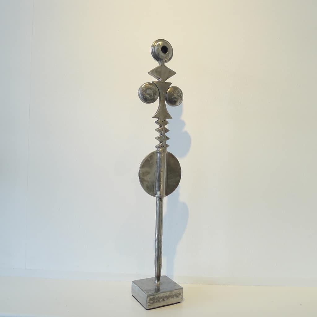 """Metallskulptur """"Venus von Quarrendorf"""", Höhe ca. 57,5 cm, Thomas Levin"""